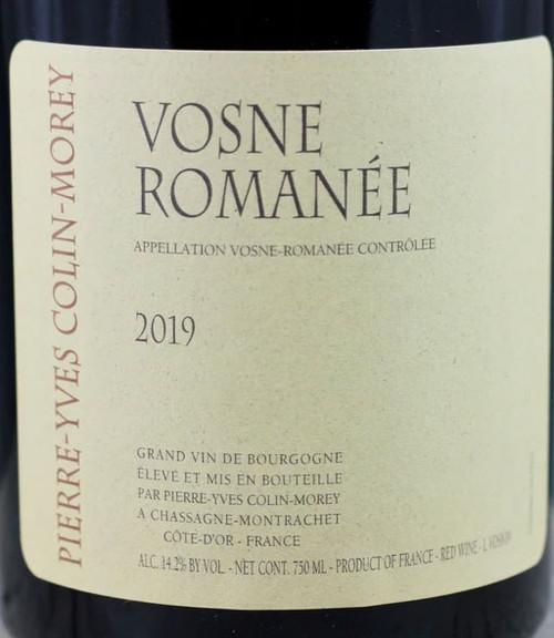 Colin-Morey/Pierre-Yves Vosne-Romanée 2019