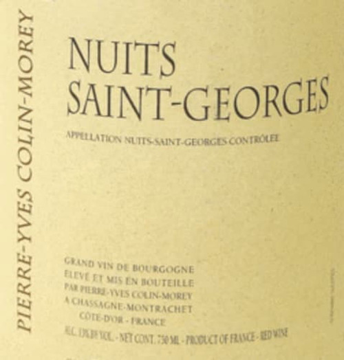 Colin-Morey/Pierre-Yves Nuits-St.-Georges 2019