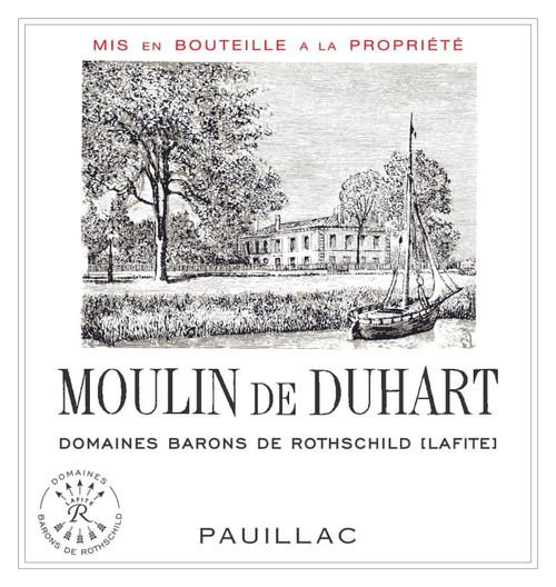 Duhart-Milon Rothschild Pauillac Moulin de Duhart 2018