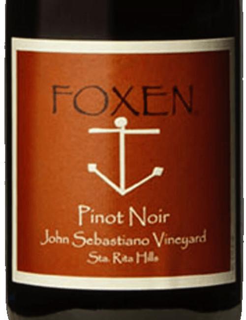 Foxen Pinot Noir Santa Rita Hills John Sebastiano Vineyard 2018