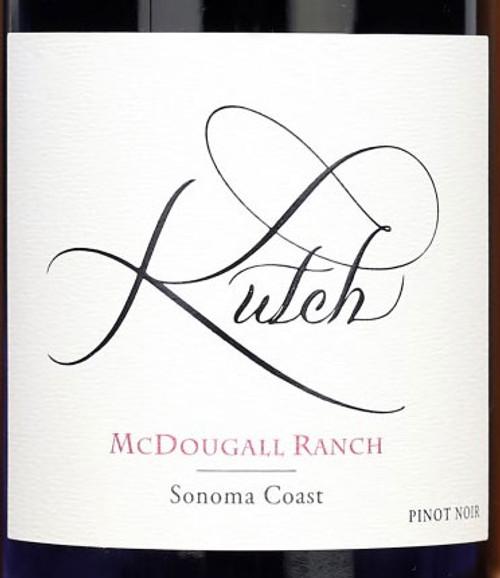 Kutch Pinot Noir Sonoma Coast McDougall Ranch 2018
