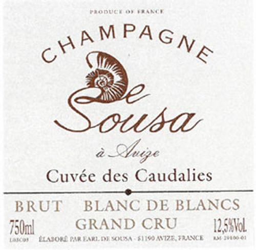 de Sousa Blanc de Blancs Champagne Caudalies Grand Cru NV