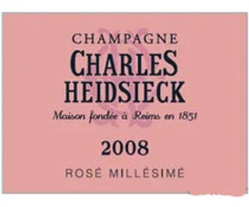 Heidsieck/Charles Brut Rosé Champagne 2008