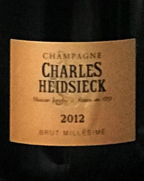 Heidsieck/Charles Brut Champagne 2012