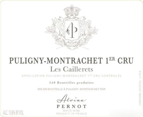 Pernot/Alvina Puligny-Montrachet 1er cru Les Caillerets 2020