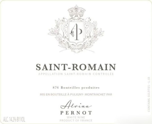 Pernot/Alvina Saint-Romain Blanc 2020