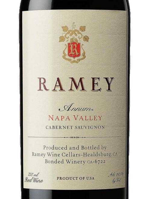 Ramey Cabernet Sauvignon Napa Valley Annum 2015