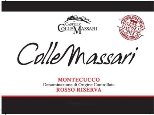 ColleMassari Montecucco Rosso Riserva 2016