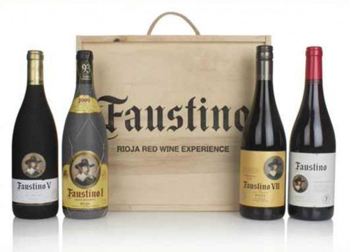 Faustino Rioja Red Experience 4-pack NV