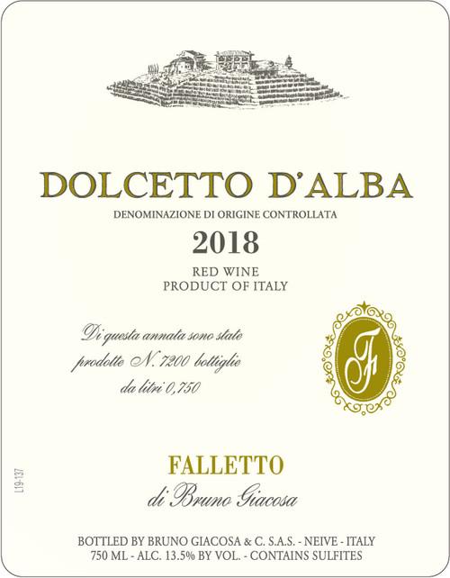 Giacosa/Bruno Dolcetto d'Alba Falletto 2018