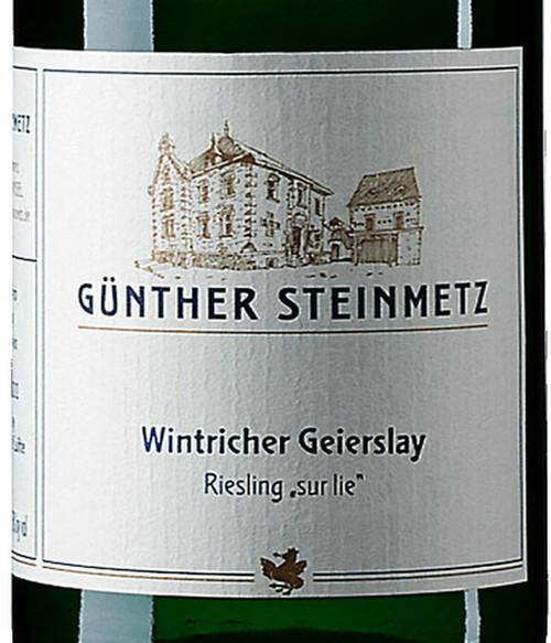 Steinmetz/Günther Riesling Trocken sur lie Wintricher Geierslay 2020