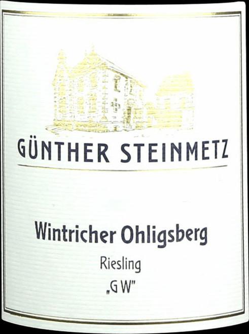 "Steinmetz/Günther Riesling Trocken Wintricher Öhligsberg ""GW"" 2020"