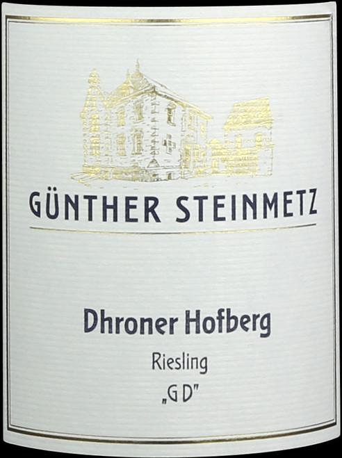 Steinmetz/Günther Riesling Trocken Dhroner Hofberg GD 2020