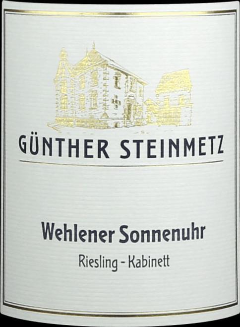 Steinmetz/Günther Riesling Kabinett Wehlener Sonnenuhr 2020