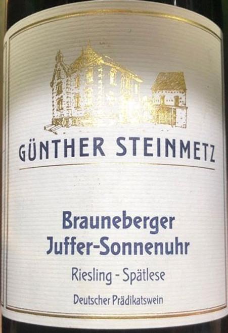 Steinmetz/Günther Riesling Spätlese Brauneberger Juffer-Sonnenuhr 2020