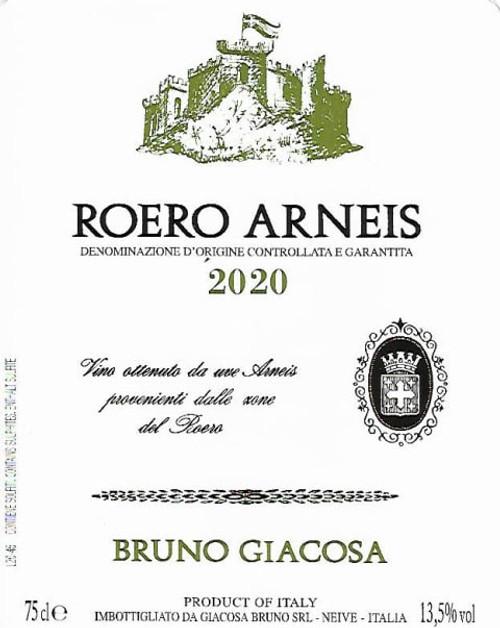 Giacosa/Bruno Roero Arneis 2020