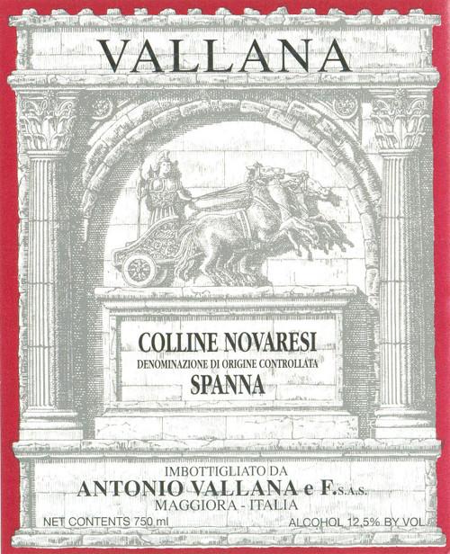 Vallana Spanna Colline Novaresi 2018