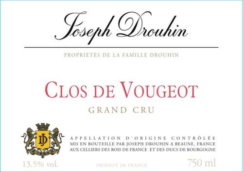 Drouhin/Joseph Clos de Vougeot Grand Cru 2016