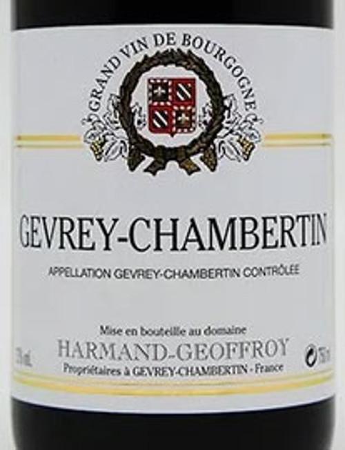 Harmand-Geoffroy Gevrey-Chambertin 2016