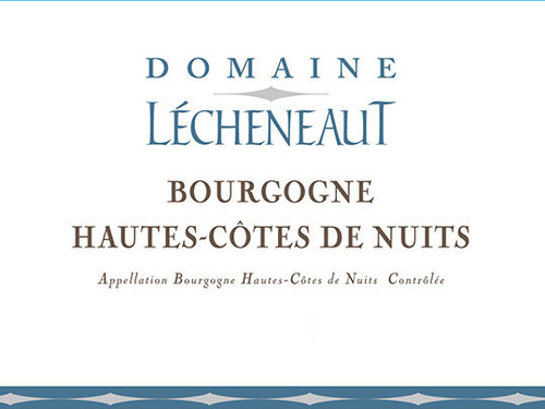 Lécheneaut Hautes-Côtes de Nuits Rouge 2017