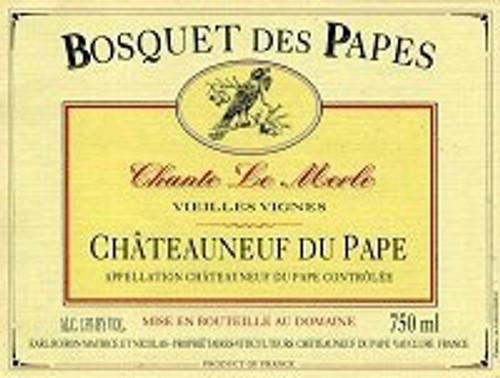 Bosquet des Papes Châteauneuf-du-Pape Chante le Merle VV 2019 1.5L
