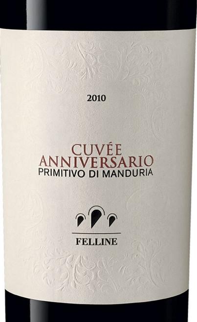 Felline Primitivo di Manduria Riserva Cuvée Anniversario 2010