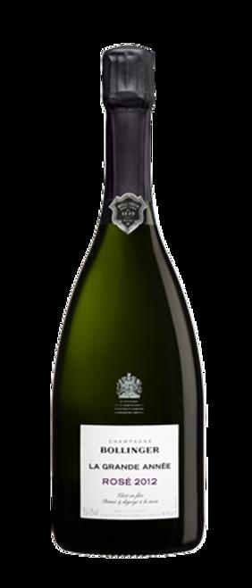 Bollinger Brut Champagne La Grande Année Rosé 2012