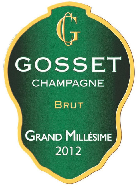 Gosset Brut Champagne Grand Millésime 2012