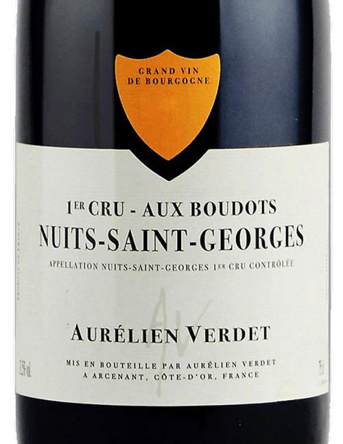 Verdet/Aurélien Nuits-St-Georges 1er cru Boudots 2018