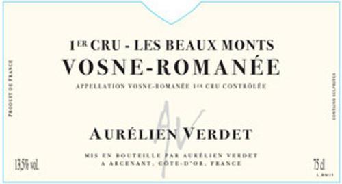 Verdet/Aurélien Vosne-Romanée 1er cru Les Beaux Monts 2018