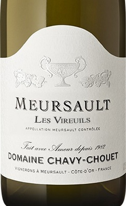 Chavy-Chouet Meursault Les Vireuils 2018
