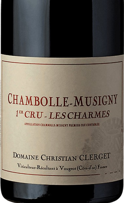 Clerget/Christian Chambolle-Musigny 1er cru Charmes 2017