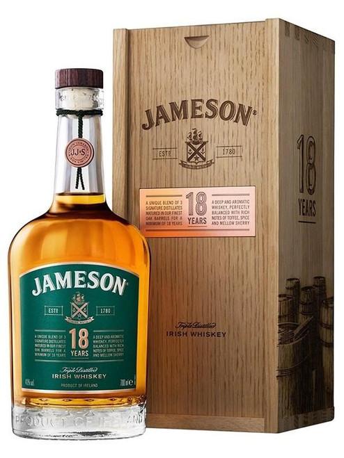 Jameson 18 Year Old Irish Whiskey