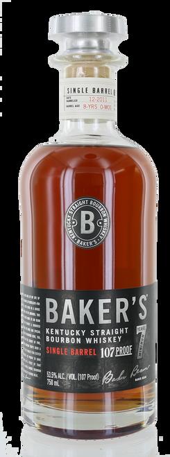 Baker's Kentucky Straight Bourbon Whiskey 7 Year (107 Proof)