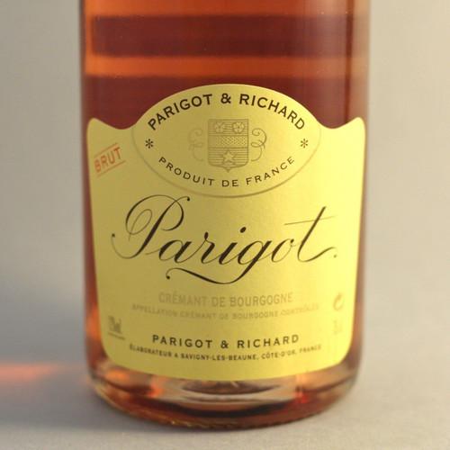 Parigot Crémant de Bourgogne Brut Rosé NV