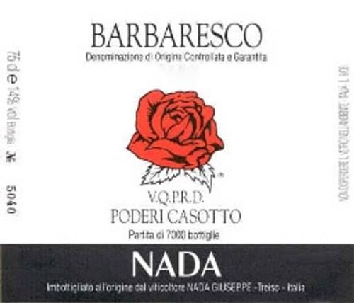 Nada/Giuseppe Barbaresco Riserva Casotto 1990 1.5L