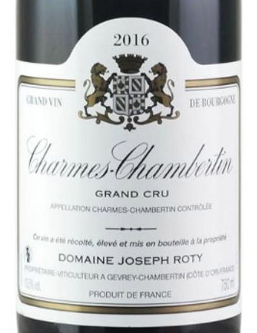 Roty Charmes-Chambertin Très Vieilles Vignes 2016