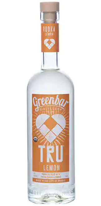 Greenbar Tru Lemon Vodka