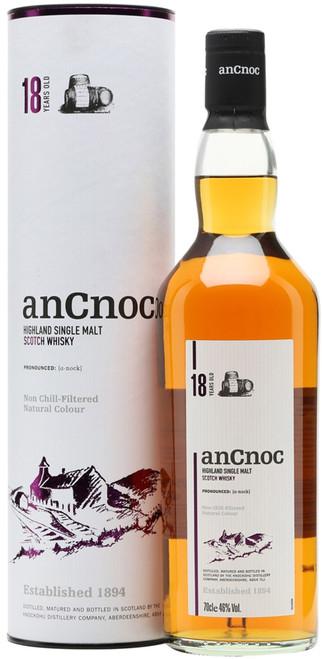 AnCnoc Highland Single Malt Scotch Whisky 18 Years Old