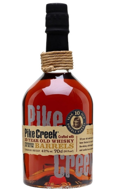 Pike Creek Canadian Whisky 10 Year