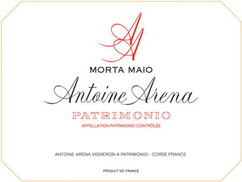 "Arena/Antoine Patrimonio (Corsica) ""Morto Maio"" Rouge 2015"