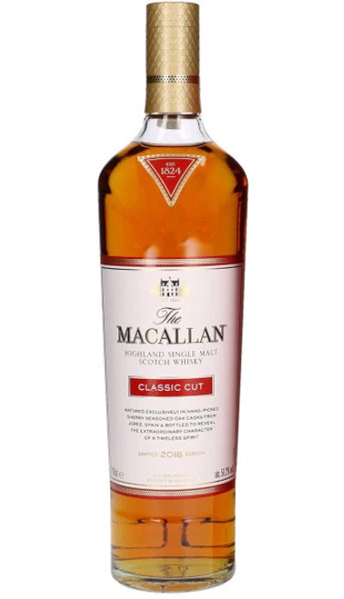 Macallan Classic Cut Single Malt Scotch Whisky 2018 Edition 102.4 Prf