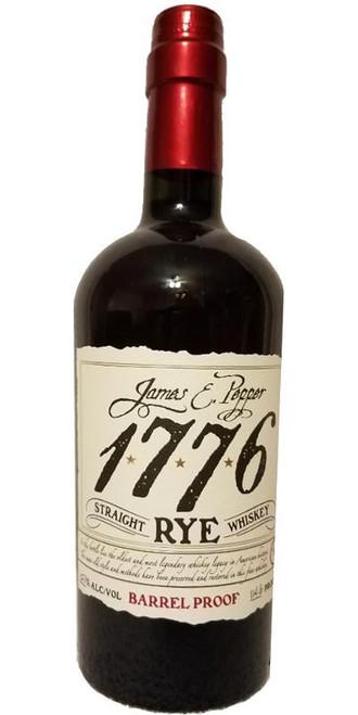 James E. Pepper 1776 Rye Whiskey Barrel Proof