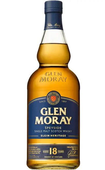 Glen Moray Single Malt Scotch 18 Year Old Speyside