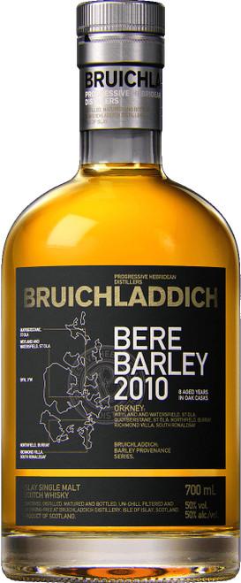 Bruichladdich Bere Barley Orkney 2010 Islay Single Malt Scotch Wh 2010