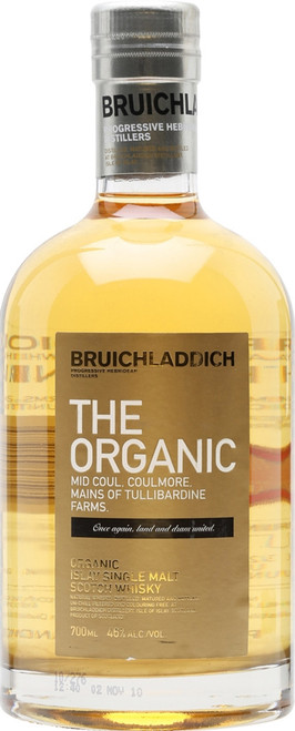 Bruichladdich The Organic 2010 Islay Single Malt Scotch Whisky