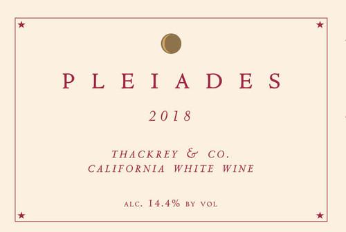 Sean Thackrey Pleiades White California 2018