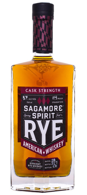 Sagamore Spirit Straight Rye Whiskey Cask Strength (112.2 Proof)