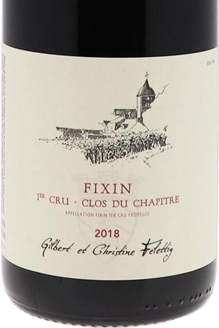 Felettig Fixin 1er cru Clos du Chapître 2018 1.5L