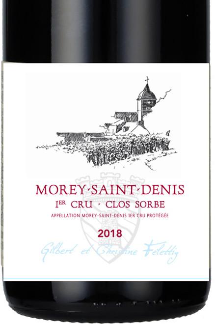 Felettig Morey-St-Denis 1er cru Clos Sorbé 2018 1.5L
